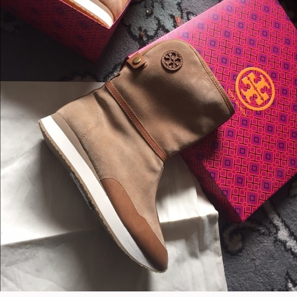 eabe1505079b Tory Burch Snow boots real fur Balfour